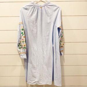 Antik Batik Dresses - ANTIK BATIK Frida Stripe Embroidered Tunic Dress